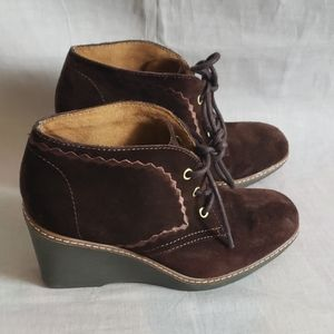 Naturalizer N5 Ankle boots Shoes Brown Size 6.5 M